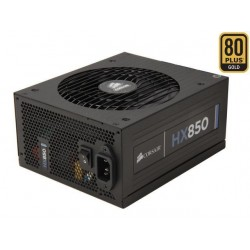 Corsair Power Supply HX850 850W, 135mm fan, modular PSU CP-9020138-EU