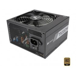Corsair Power Supply TX550M, 550W, 80 Plus® Gold, Semi-Modular, 120mm CP-9020133-EU