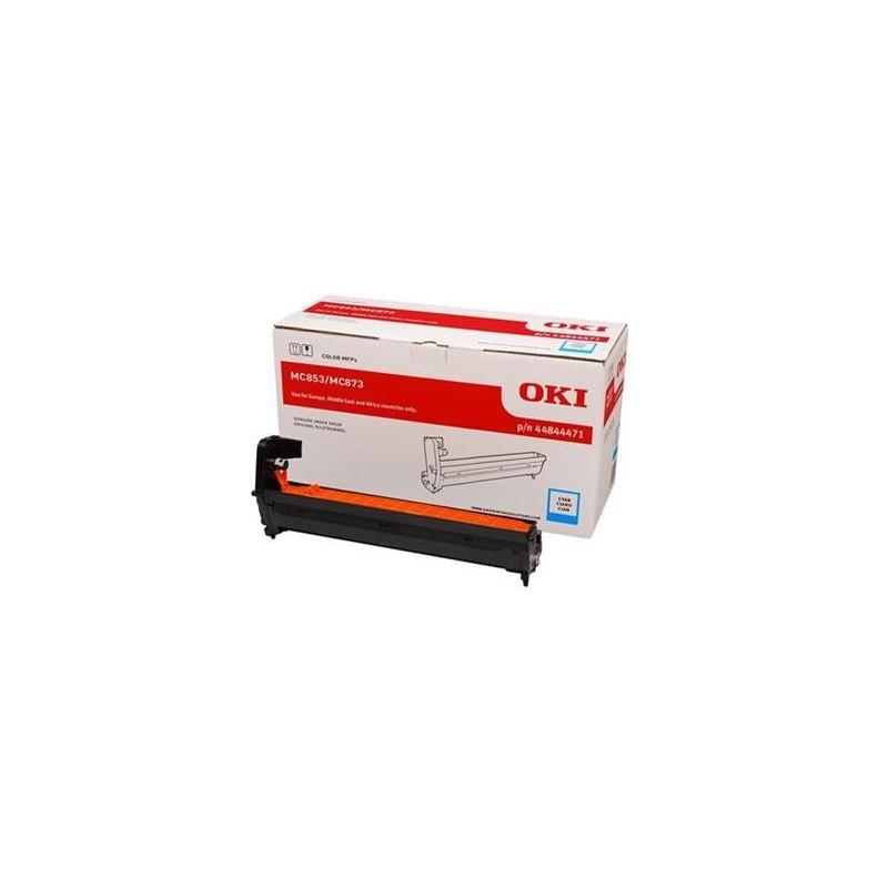 valec OKI MC853/MC873 cyan 44844471