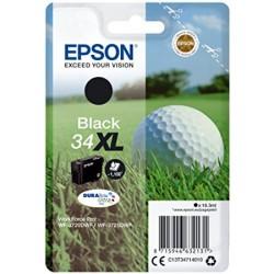 Epson originál ink C13T34714010, T347140, black, 16.3ml, Epson WF-3720DWF, 3725DWF