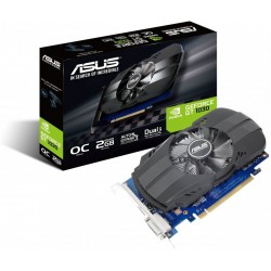 ASUS GeForce PH-GT1030-O2G, 2GB/128-bit GDDR5, DVI, HDMI 90YV0AU0-M0NA00