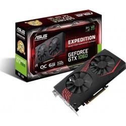 ASUS EX-GTX1060-O6G 6GB/192-bit, GDDR5, DVI, 2xHDMI, 2xDP 90YV0A28-M0NA00
