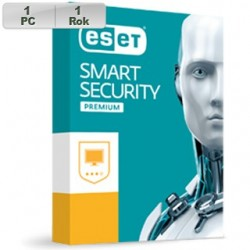 ESET Smart Security Premium 2018 1PC na 1r 8588007066059