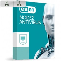 ESET NOD32 Antivirus 2018 4PC na 1r 8588007066035