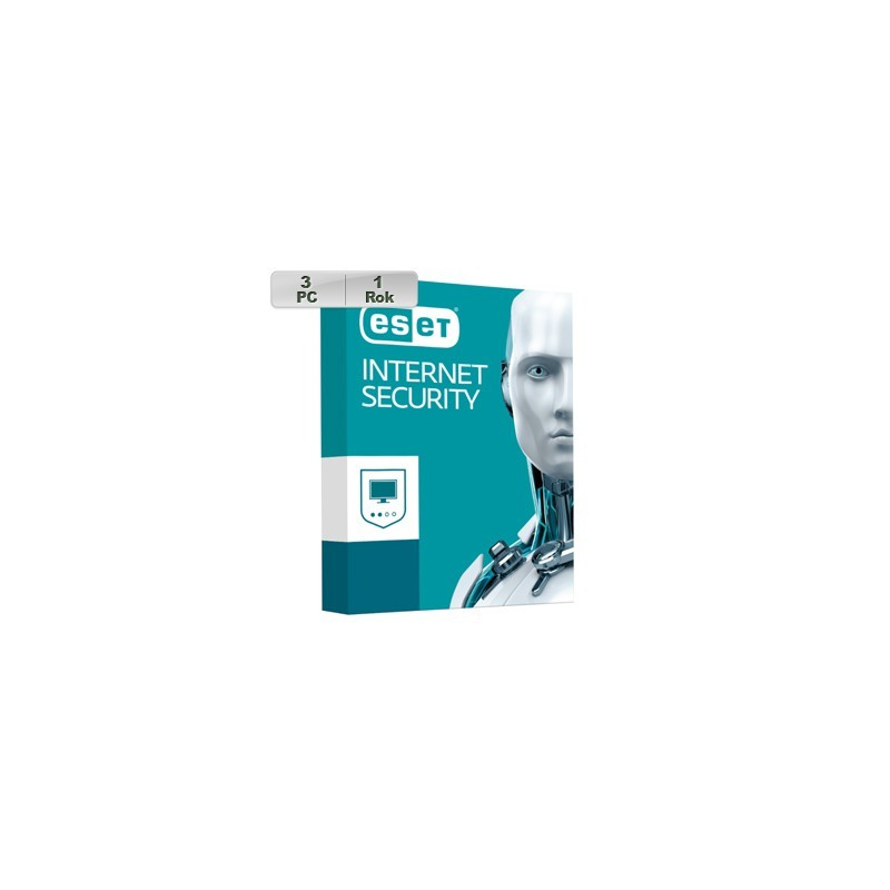 ESET Internet Security 2018 3PC na 1r 8588006748932