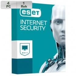 ESET Internet Security 2018 4PC na 1r 8588006748956