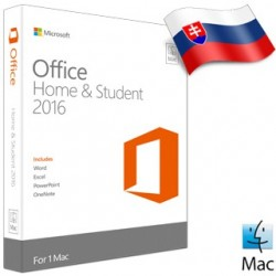 MS OFFICE Home and student 2016 SK ML pre Mac GZA-01101