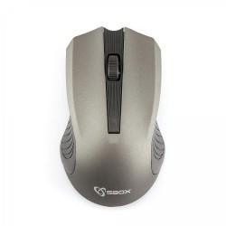 SBOX 4D Optická bezdrôtová myš Grey WM-373G