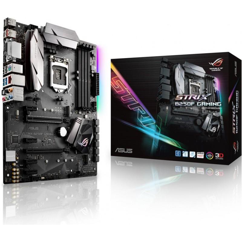ASUS STRIX B250F GAMING soc.1151 B250 DDR4 ATX 2xPCIe USB3 GL iG DVI HDMI DP 90MB0TA0-M0EAY0