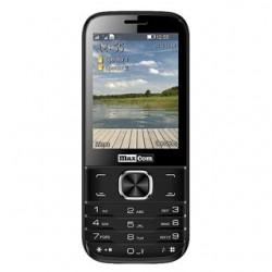 MAXCOM Telefón DUAL Sim MM237 čierny