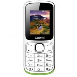 MAXCOM Telefón DUAL Sim MM129 bielo/zelený