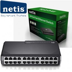 NETIS ST31024P 24xTP 10/100Mbps 24port switch ST3124P