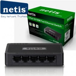 NETIS ST3105S Switch 5-Port/100Mbps/Desk