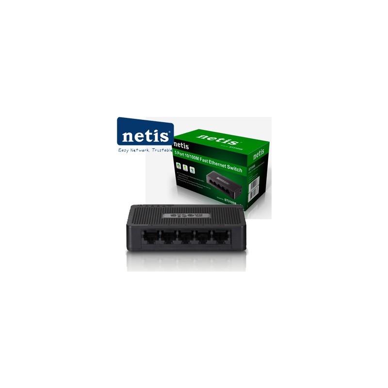 NETIS ST3105S Switch 5-Port/100Mbps/Desk