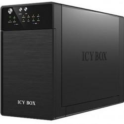 ICY BOX Externý box pre 2x 3.5' SATA HDD IB-RD362 IB-RD3620SU3