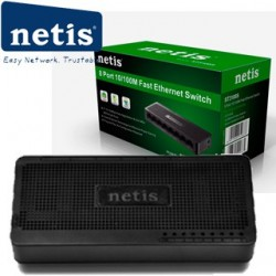 NETIS ST3108S Switch 8-Port/100Mbps/Desk