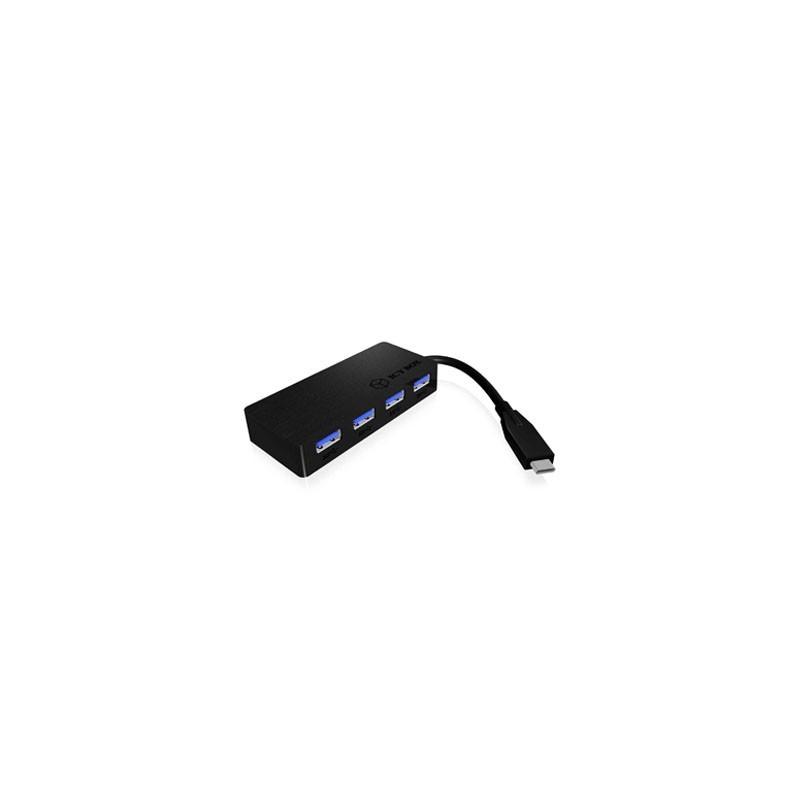RAIDSONIC USB 3.0 Type C 4 portový HUB AC6403-C IB-AC6403-C