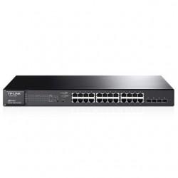 TP-Link Switch 24-Port/1000Mbps/MAN/Rack/SFP/PoE...