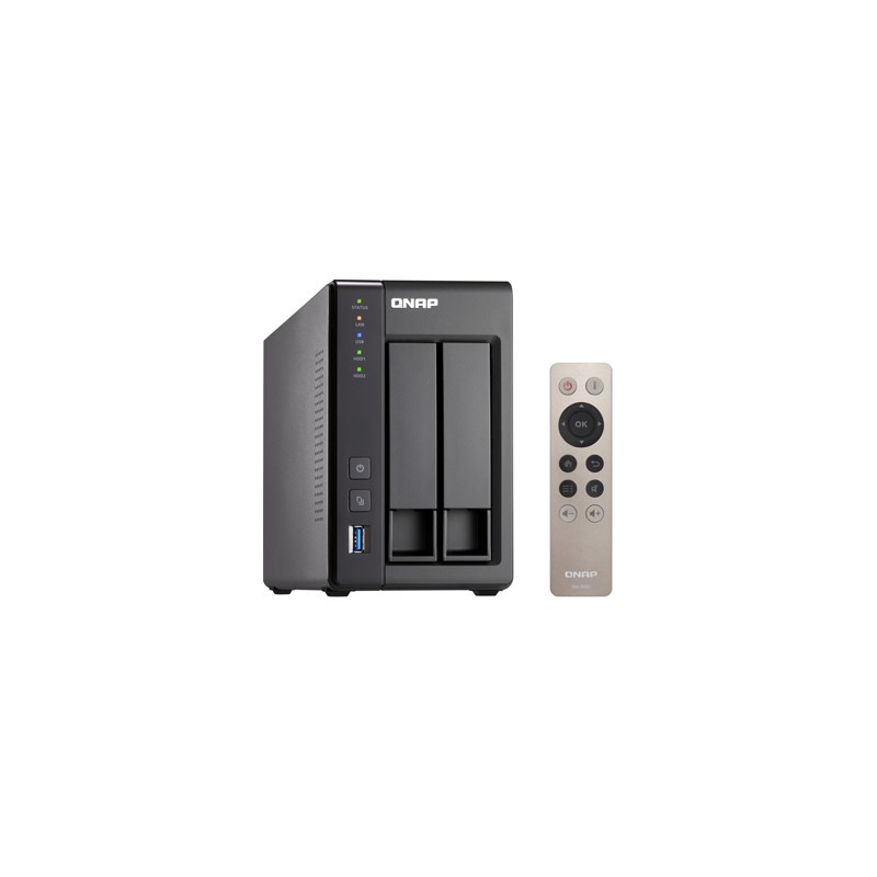 QNAP NAS Server TS-251+ 2xHDD TS-251+-2G