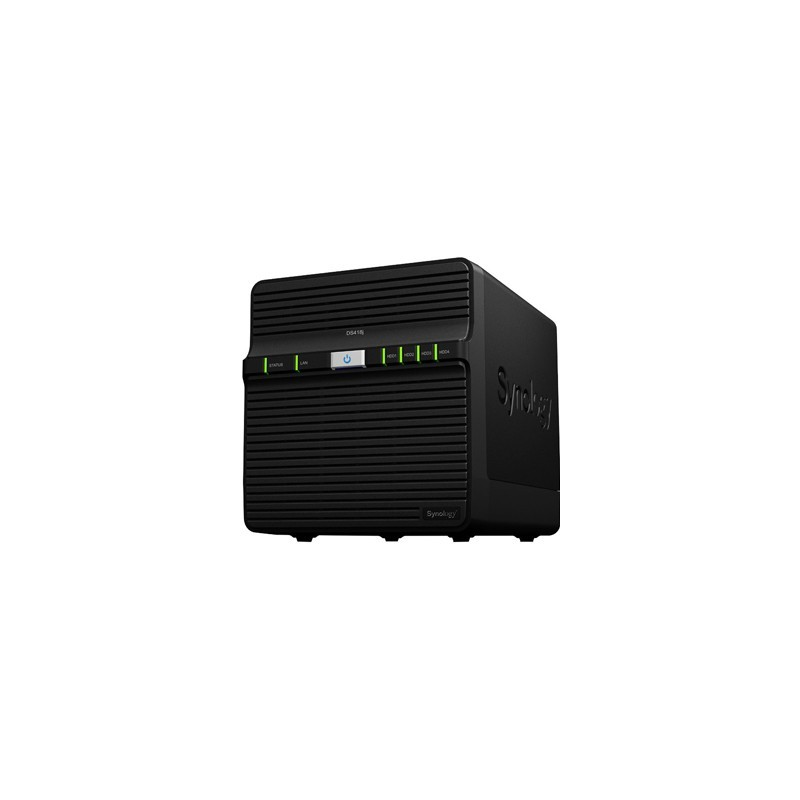Synology NAS Server DS418j 4xHDD/SSD