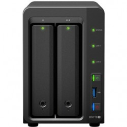 Synology NAS Server DS718+ 2xHDD