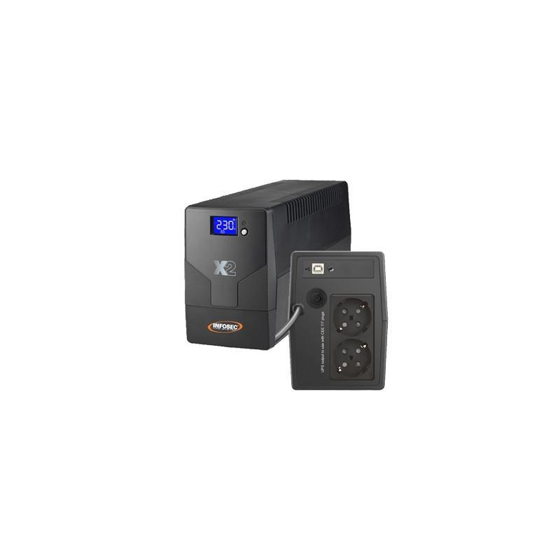 INFOSEC X2 EX LCD USB 500VA 65998