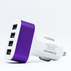 MANTA Autonabíjačka 4x USB 2.0 12V MA435 wht/pur MA435BIF