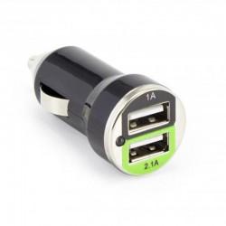 SBOX Autonabíjačka 2x USB 2.0 CC-221B blk