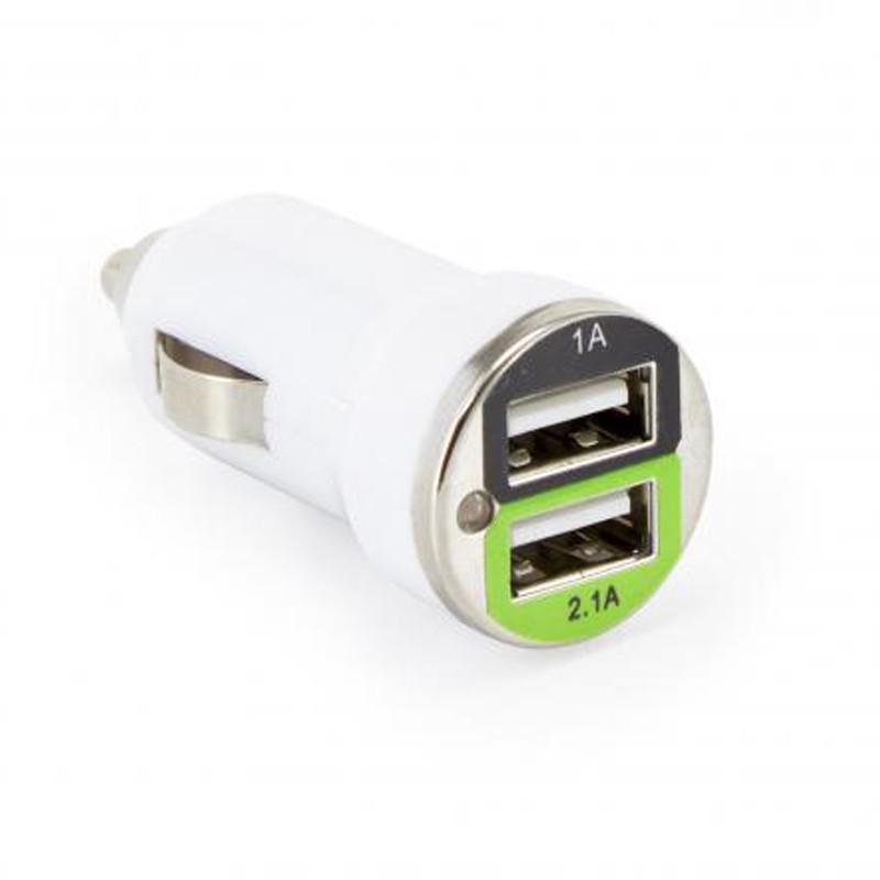 SBOX Autonabíjačka 2x USB 2.0 CC-221W wht