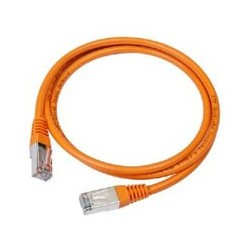 Gembird PATCH KABEL UTP 0.5m orange PP12-0.5M/O