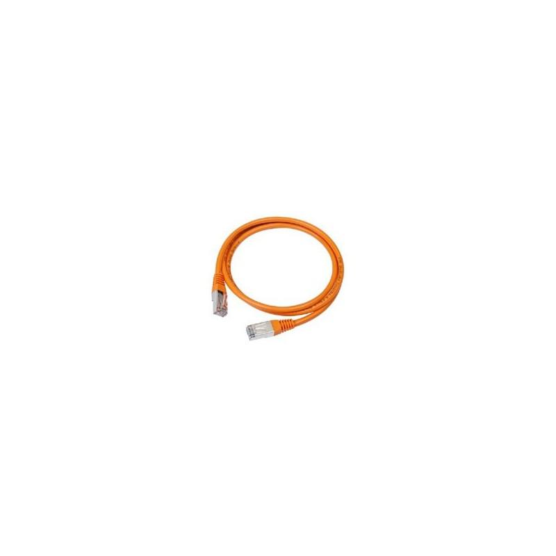 Gembird PATCH KABEL UTP 0.5m orange PP12-0.5M/O