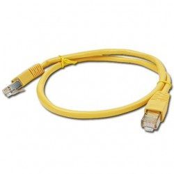 PATCH KABEL UTP 0.5m yellow PP12-0.5M/Y