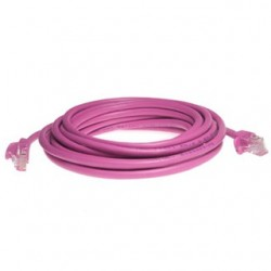 Gembird PATCH KABEL FTP cat.6, 0.5m pink PP6-0.5M/RO
