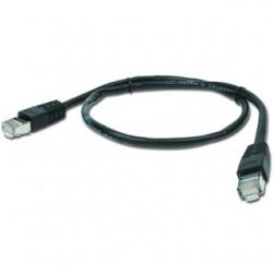 PATCH KABEL FTP 1m black PP22-1M/BK