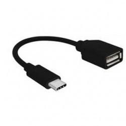 GEMBIRD Kábel USB Type C/USB 2.0 samica A-OTG-CMAF2-01