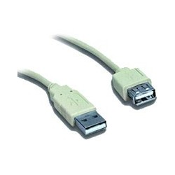KABEL USB 2.0 predlžovací A-A 0.75m CC-USB2-AMAF-75CM/300