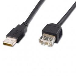 PremiumCord KUPAA02BK kábel USB2.0 A-A 20cm