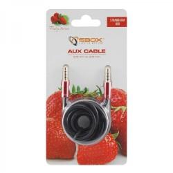 SBOX 3535-1,5R Kábel audio 3,5mm jack/jack 1,5m