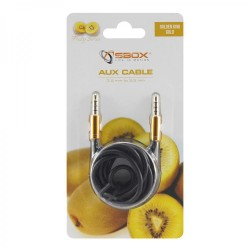 SBOX 3535-1,5G Kábel audio 3,5mm jack/jack 1,5m