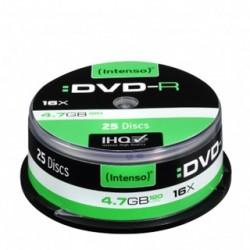 INTENSO DVD-R Cake Case 4,7GB 25ks 4101154