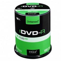 INTENSO DVD-R Cake Case 4,7GB 100ks 4101156