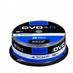 INTENSO DVD+R Cake Case 4,7GB 25ks 4111154