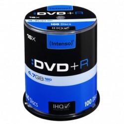 INTENSO DVD+R Cake Case 4,7GB 100ks 4111156