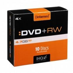 INTENSO DVD+RW Slim Case 4,7GB 10ks 4211632