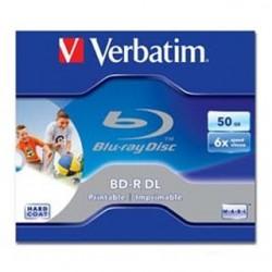 VERB BD-R DL 50GB 6x Wide Printable JC 1ks 43736P