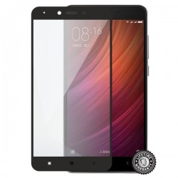Screenshield XAIOMI Redmi Note 4 Tempered Glass protection (full COVER black) - Film for display protection XIA-TG25DBREDNO4-D
