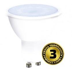 Solight LED žiarovka, bodová , 3W, GU10, 4000K, 260lm, biela WZ315A