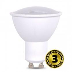 Solight LED žiarovka, bodová , 7W, GU10, 3000K, 500lm, biela WZ318A