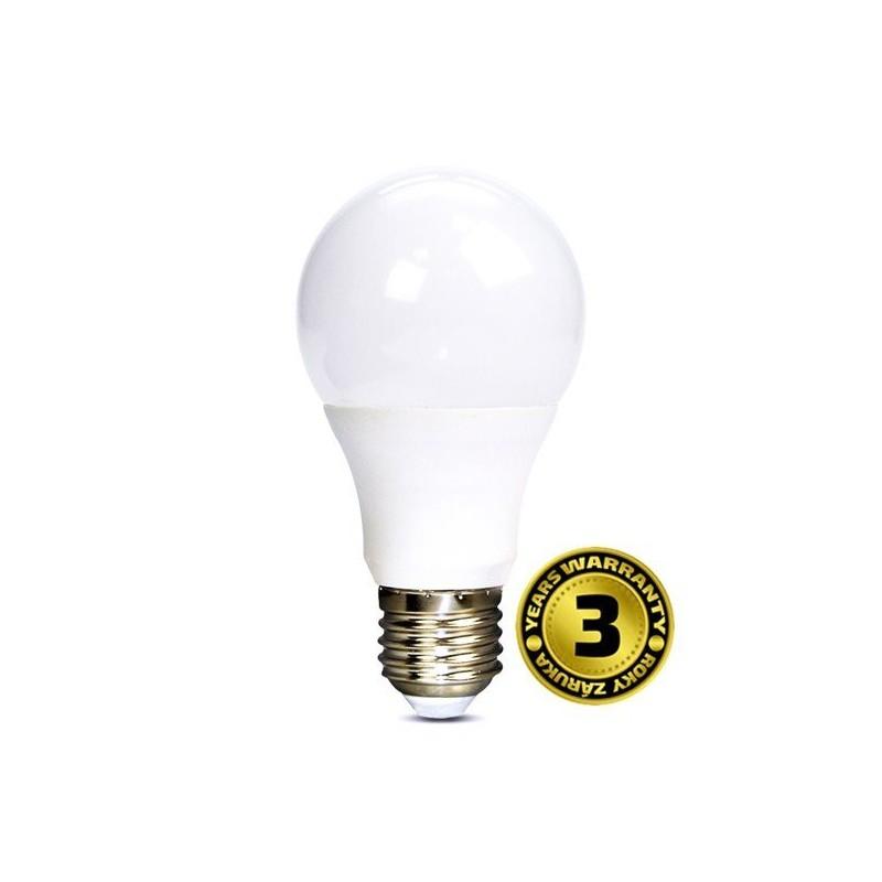Solight LED žiarovka, klasický tvar, 7W, E27, 3000K, 270°, 520lm WZ504