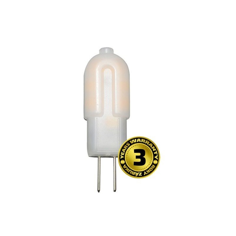 Solight LED žiarovka G4, 1,5W, 3000K, 120lm WZ323